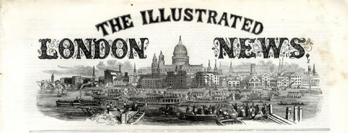 1858 ILLUSTRATED LONDON NEWS Leeds Mayor Peter Fairbirn QUEEN VICTORIA Newspaper Victorian (5390)